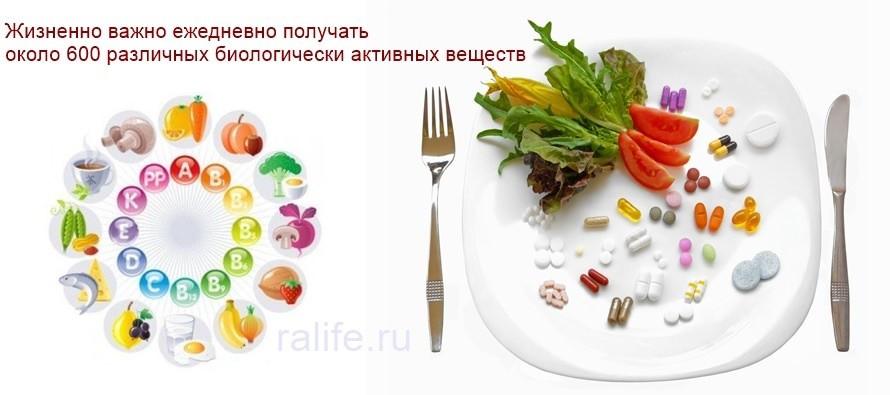 без витаминов и минералов нам не выжить