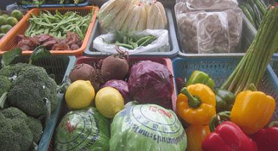 витамины и минералы в овощах
