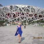 Ура! Я в Пекине в Олимпийской деревне!