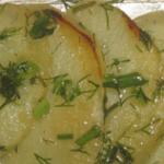Картофель запеченный в фольге на мангале