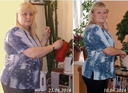 на сколько можно похудеть за месяц отзывы
