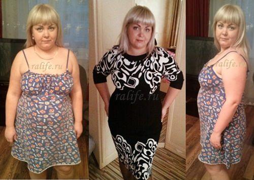 Результаты похудения с фото и отзывы клиентов