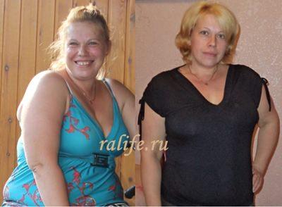 снижение веса Елена Лебедева