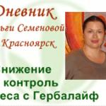 История снижения веса в Красноярске Ольги Семеновой только начинается!