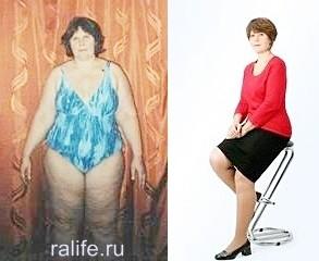 результат снижения веса в Волгограде
