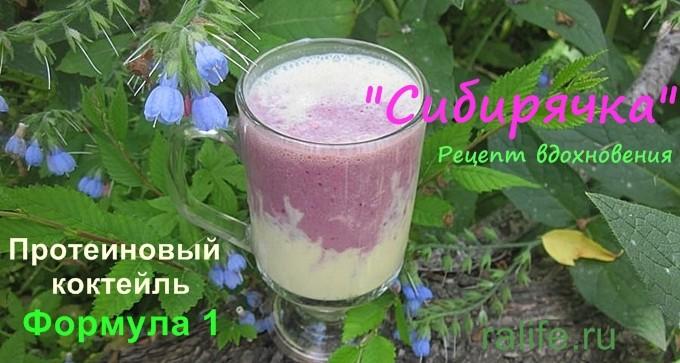 А вы пробовали белковый коктейль с жимолостью «Сибирячка»?