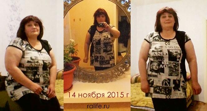 я похудела на 4 кг за месяц