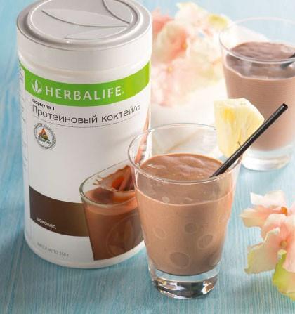 шоколадный коктейль формула 1