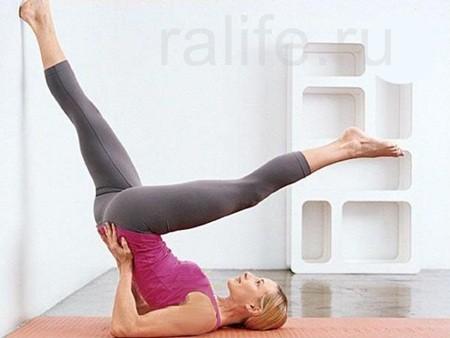 убрать живот упражнения