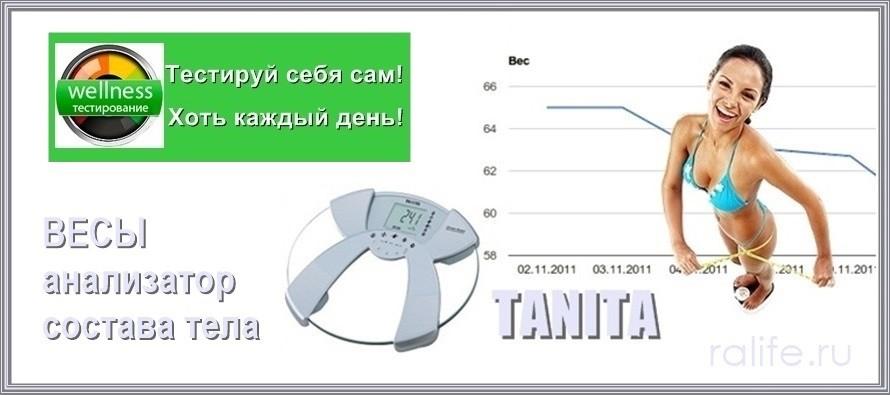 TANITA анализатор состава тела