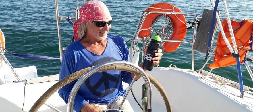 с Джеком на яхте