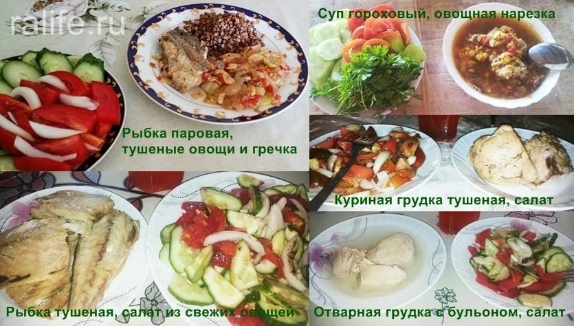 мое питание для снижения веса