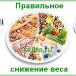 Правильное снижение веса, принципы и факты