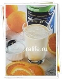 Апельсиново-кремовый шейк