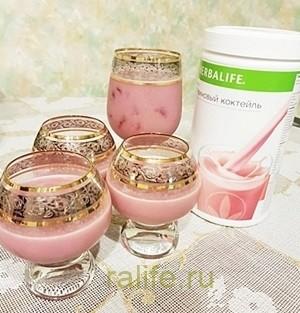клубничный коктейль для снижения веса
