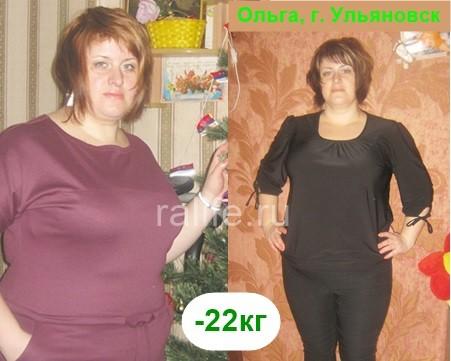 похудела на 22 кг