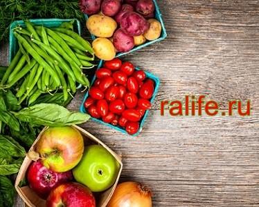 польза от фруктов и овощей