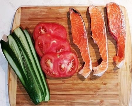 форель с овощами рецепт с фото