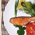 Самый лучший рецепт жареной форели с овощами