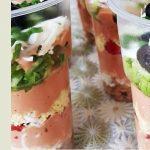 Овощное парфе — еда в стакане