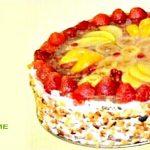 Торт для худеющих на диете Гербал