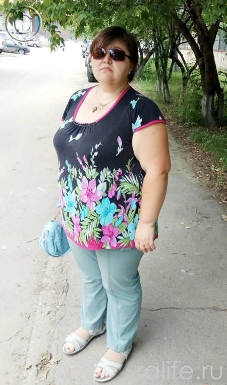 участница марафона похудения из Москвы