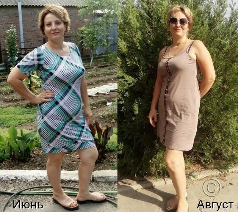 результаты похудения за 10 недель