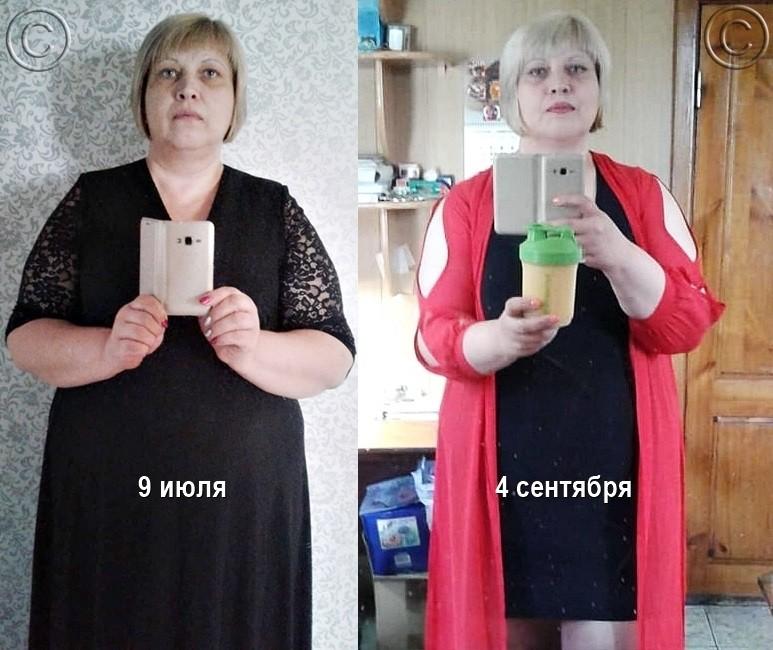 фото до и после участницы марафона стройности