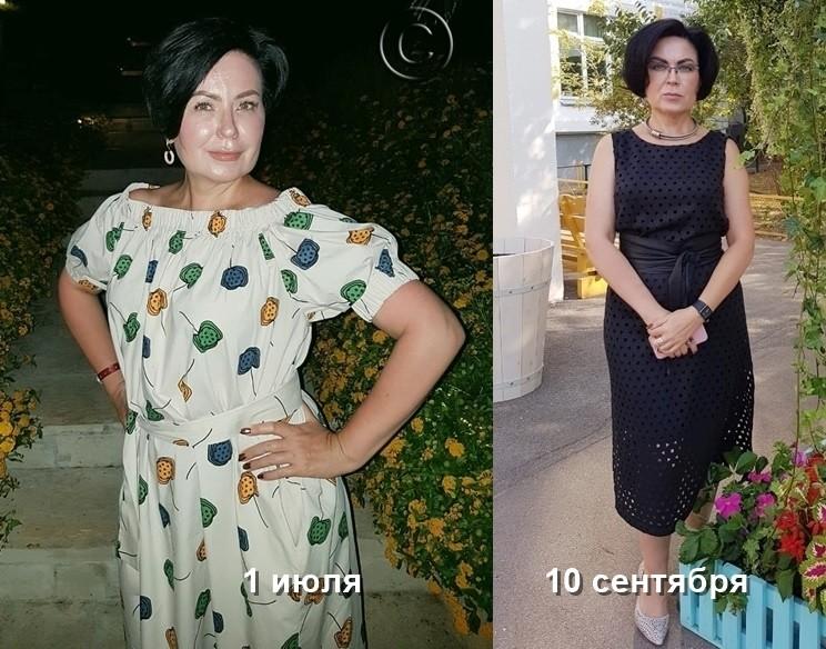 результат похудения в марафоне за 14 дней
