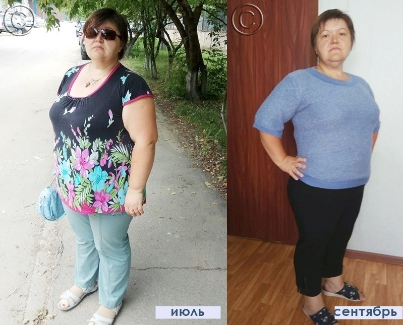 результаты похудения за 2 месяца на марафоне
