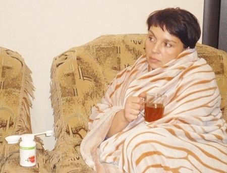 пить чай, когда болеешь