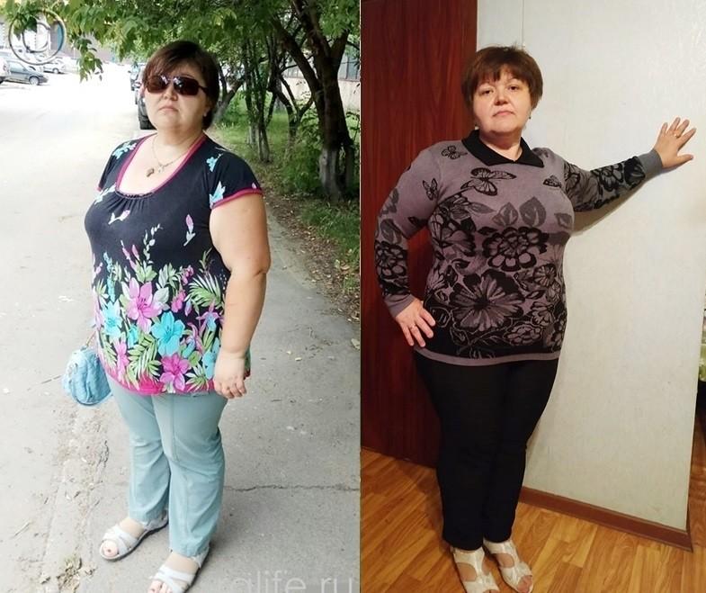 результаты похудения Марины Коноваловой
