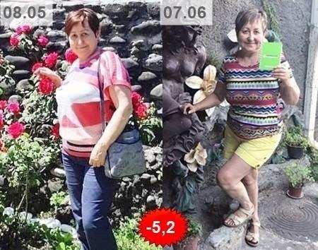 результат похудения Флюры Галямовой из Сочи