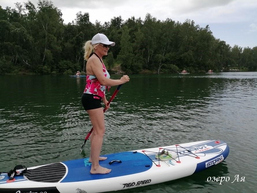 отдых летом на озере Ая