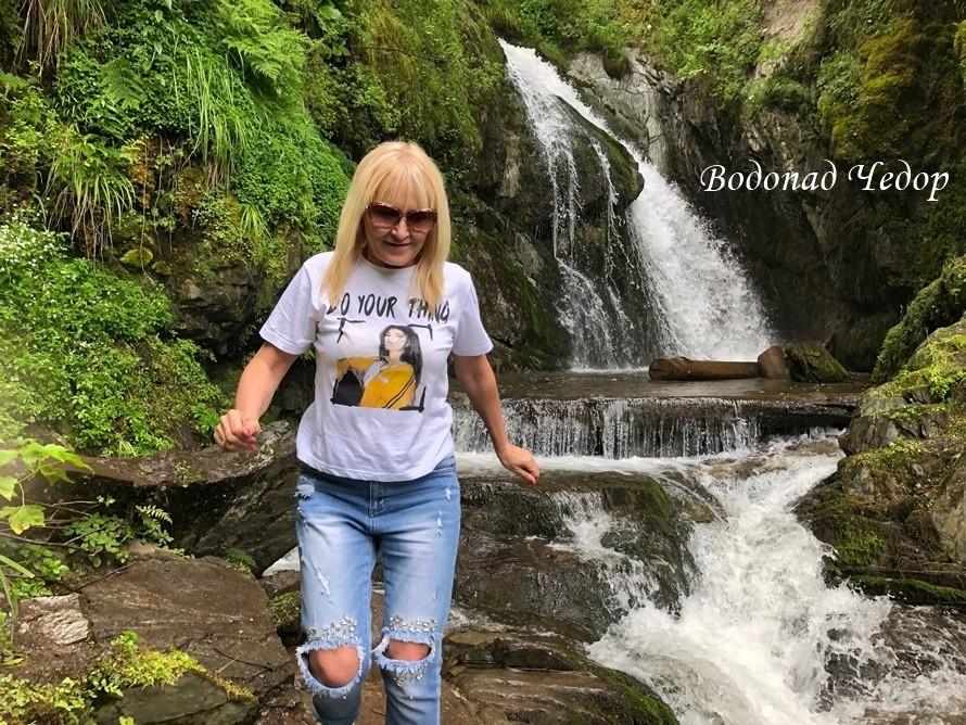 водопады на Телецком озере