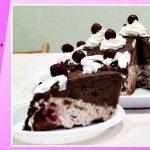 Торт «Пьяная вишня», рецепт пп