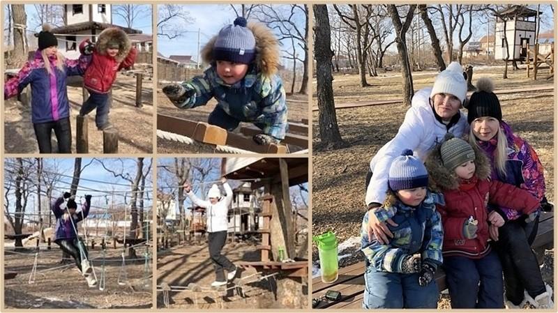 Находка, 38 Самураев, веревочный парк