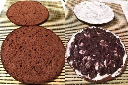 Рецепт пирога с черемухой и сметаной