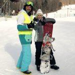 Вы умеете кататься на сноуборде? А я только учусь!