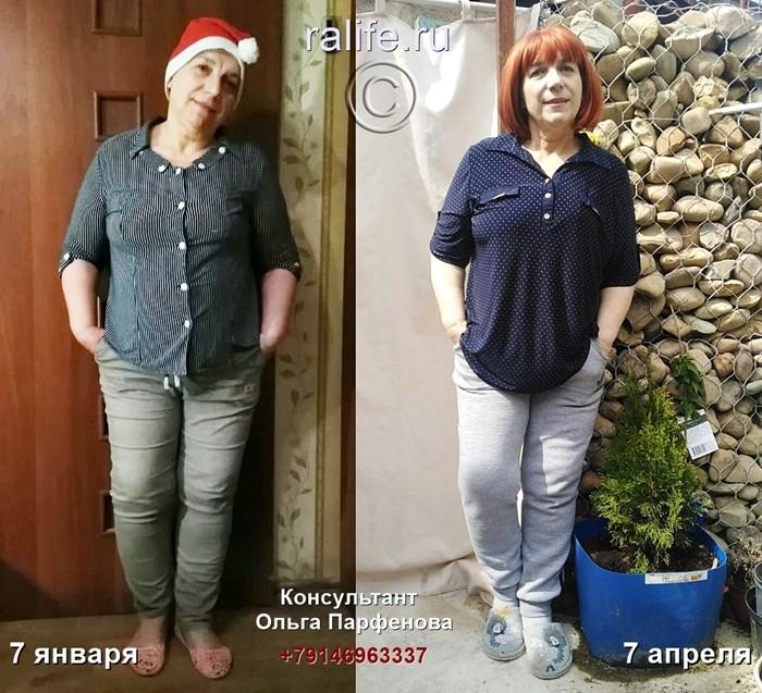 результат похудения Елизаветы из Краснодара