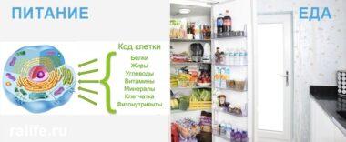 Продукты клеточного питания