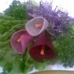 Простые и красивые украшения из овощей