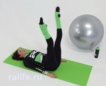 Упражнения для талии в домашних условиях — видео