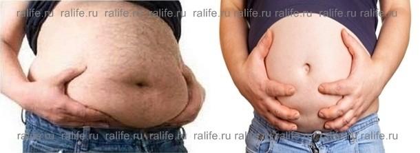сжечь внутренний жир на животе