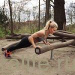 Простые упражнения на улице для похудения
